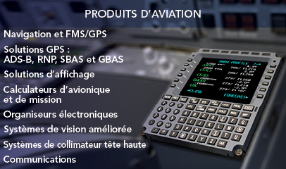 Produits d'aviation